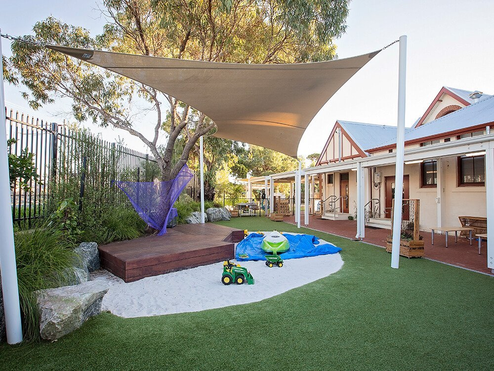 North Fremantle Toddlers Outdoor Playspace