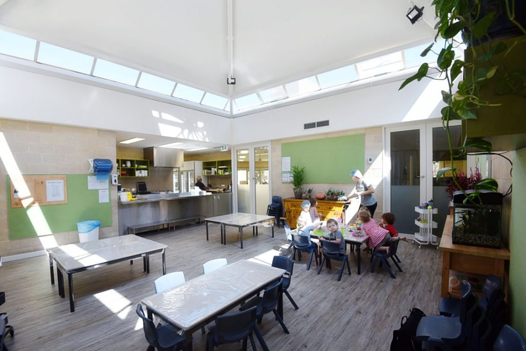 SOEL Nedlands Child Care: The Dining Room